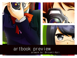 Artbook Preview- by Shizumii-Kaii