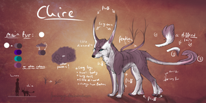 Chire - new species by Foxinaya