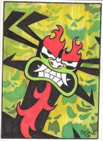 Aku Card by cretineb