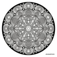 Mandala drawing 42 by Mandala-Jim