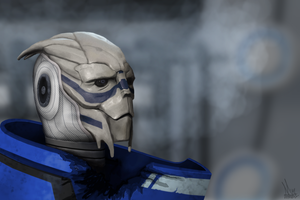 Garrus Vakarian by DarkShadowDorifuto