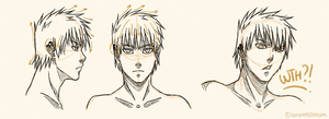 Daizuke Hair Ref by SorceressDream