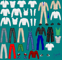Bases - Male Clothes by Ameyal