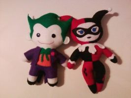 Mad Love - Plushie Style! by AugustTulips