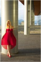 Lady in Red by Val-Faustino