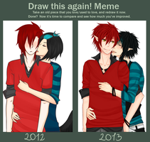 Draw This Again Meme by Ayuyah