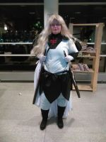 me as Undine from claymore jpopcon 2015 2 by daylover1313