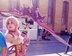 Serah Farron Cosplay Final Fantasy XIII-2 by AsakuraYumiChan