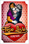You are my True Love by Wolfan-foxD