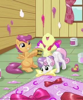 Happy Hearts N Hooves Day by hollowzero