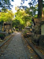 Cemetery Path by simfonic
