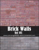 Brick Walls Set 01 by CamaroGirl666