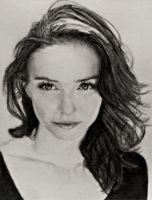 Eleanor Tomlinson Pencil Drawing by SHParsons