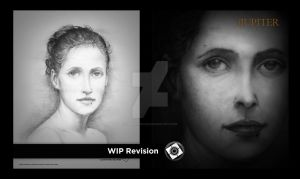 ARTREVISION 1 The Woman WIP by JupiterGrace