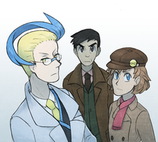 investigation team by Quilofire