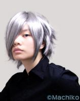 Zexion hairstyle by momoiro-machiko