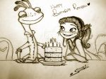 Happy (belated) birthday Randall! by Shenny-Shendelier