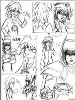 Random Bakura Gag strip by viciousSHADi