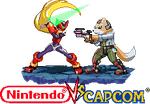 Megaman Zero vs Fox Mc cloud Nintendo vs Capcom by Riklaionel