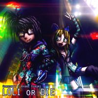 Goreshit / Ayane Fukumi - Loli or Die album cover by MetaDragonArt