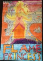 Flame Princess by FireFeyRose412