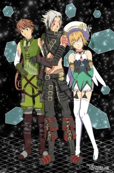 .hack G.U. - Team Haseo by Sleek-Phantom