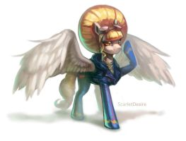 Commission OC pony by ScarletDesires