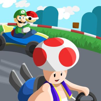 Toad's Selfie by MGH-Mad-Gamer