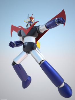 Great Mazinger (5) by satoleon