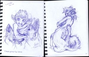 whooaaa sketchboook stuff 2 by thalia-is-crazy