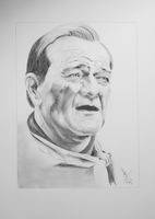 John Wayne by resistanceispointles