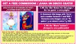 FREE COMMISION FACEBOOK EVENT! by Ullamaliztli