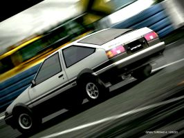 Toyota Sprinter Trueno AE86 by pete7868
