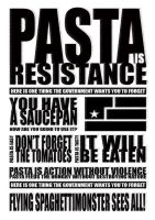 pasta is resistance by doridoreau