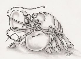 fighting lobster by rogerbusque