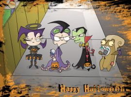 the hallowinies by alucardunit01