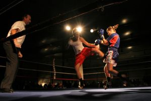 Kick-Boxing by cahilus