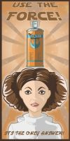 The Force Hairspray by Pencilbags