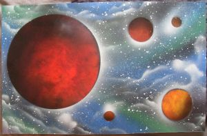 Space Painting by Kelden17