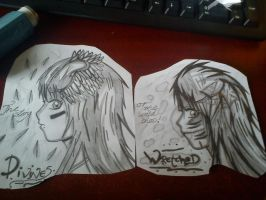 .::Wretched And Divine Anime Version::. by WeFallLikeAngels19
