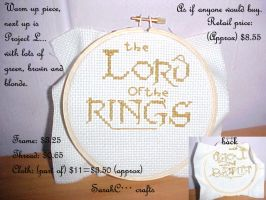 Lotr stitch by sarahcoldheart