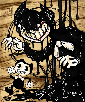 Bendy by StrangeMakesArt