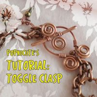 Toggle Clasp Tutorial by popnicute
