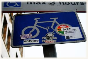 Cycle Sticker by GarfieldLeChat