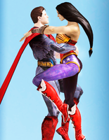 Superman x Diana  s2 by Weskervit789