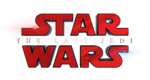 Star Wars : The Last Jedi - Title Logo 3D 4K by firedragonmatty