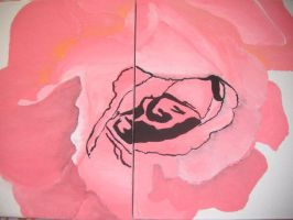 ROSE painting by xe2x