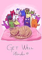 Get well Wonder by Anolee