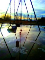 flooded swings by My-Paper-Heart