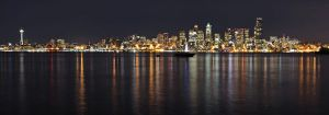 Seattle Skyline by yo13dawg